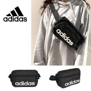 アディダス(adidas)の☆新品☆アディダス リニア コア ウエストポーチ(ボディバッグ/ウエストポーチ)