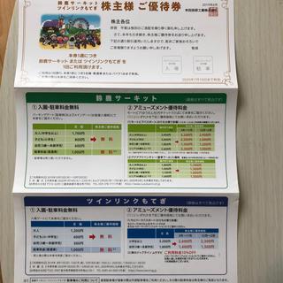 ホンダ(ホンダ)のホンダ 鈴鹿サーキット ツインリンクもてぎ 優待券(遊園地/テーマパーク)