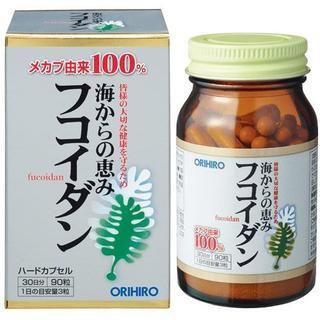 オリヒロ(ORIHIRO)のフコイダン オリヒロ 90粒(その他)