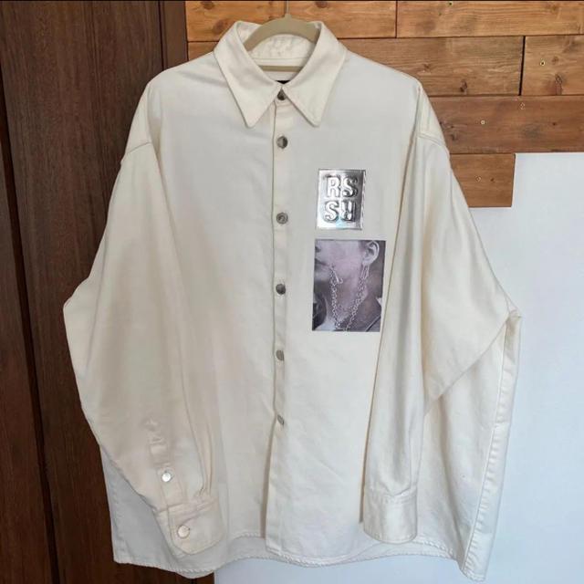 RAF SIMONS(ラフシモンズ)の19ss rafsimonsデニムシャツ メンズのジャケット/アウター(Gジャン/デニムジャケット)の商品写真