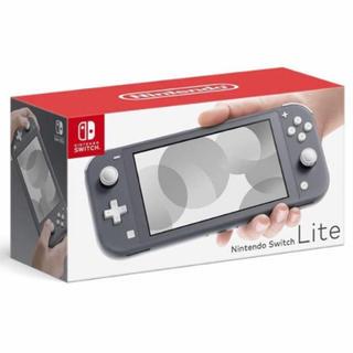 Nintendo Switch - ニンテンドースイッチ ライト グレー 新品