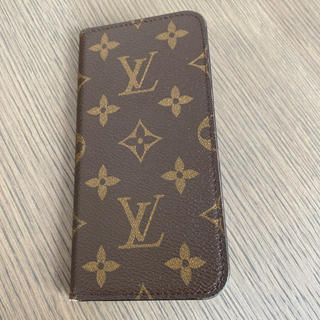 ルイヴィトン(LOUIS VUITTON)のルイヴィトンI phone携帯ケース(iPhoneケース)