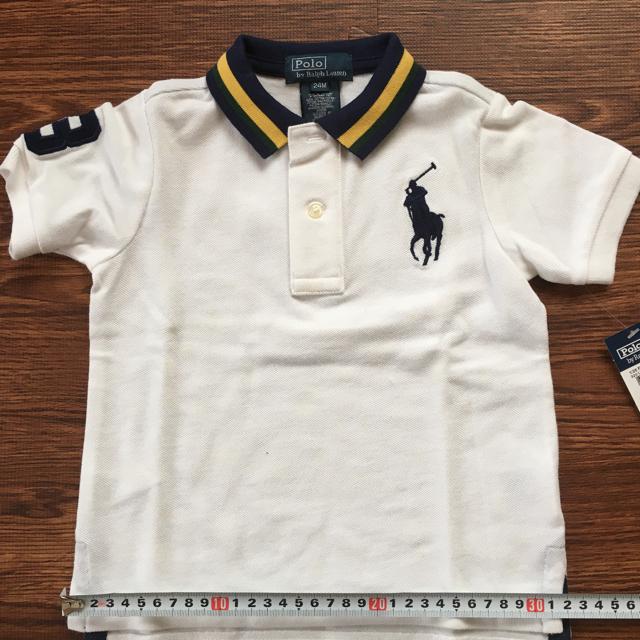 POLO RALPH LAUREN(ポロラルフローレン)のラルフローレン ポロシャツ 24M キッズ/ベビー/マタニティのベビー服(~85cm)(シャツ/カットソー)の商品写真