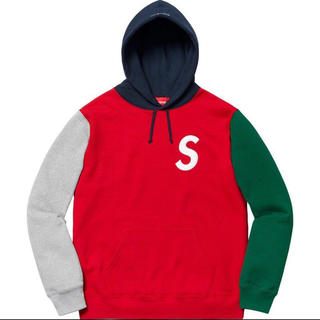 Supreme - Supreme S Logo Colorblockd Hooded Swea