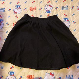 シマムラ(しまむら)のミニスカート ブラック Lサイズ(ミニスカート)