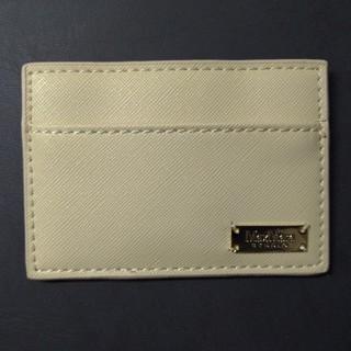 マックスマーラ(Max Mara)のMax Mara レザー風 カードケース ホワイト(その他)