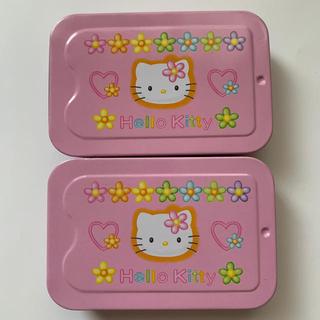 ハローキティ - キティ缶  2コまとめ