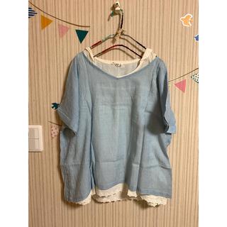 サマンサモスモス(SM2)のセーラー襟シャツ♡2点セット(Tシャツ(半袖/袖なし))