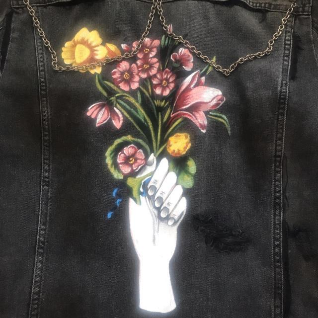 Gucci(グッチ)のGUCCI グッチ デニムジャケット 新品未使用 メンズのジャケット/アウター(Gジャン/デニムジャケット)の商品写真