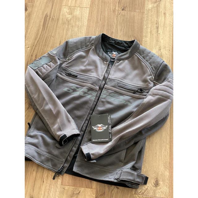 Harley Davidson(ハーレーダビッドソン)の値下げ!ハーレー純正 メッシュジャケット ライダースジャケット メンズのジャケット/アウター(ライダースジャケット)の商品写真