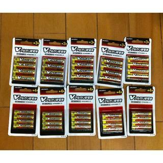 新品 アルカリ乾電池 単三 20本+単四 20本 (合計40本)(防災関連グッズ)