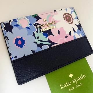 ケイトスペードニューヨーク(kate spade new york)のpwru6389 ケイトスペード デイジー カードケース(名刺入れ/定期入れ)
