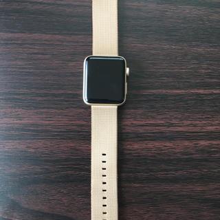 アップル(Apple)のApple Watch シリーズ2 42mm ゴールド(腕時計(デジタル))