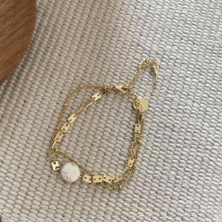 ザラ(ZARA)のPerl braceletდ (ブレスレット/バングル)