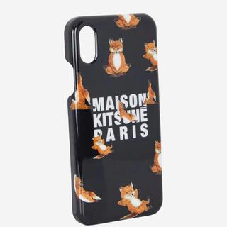 メゾンキツネ(MAISON KITSUNE')のMaison Kitsune メゾンキツネ ケース カバー iphone X(iPhoneケース)