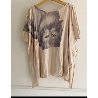 アチャチュムムチャチャ(AHCAHCUM.muchacha)のあちゃちゅむ ネコ トップス  (Tシャツ(半袖/袖なし))