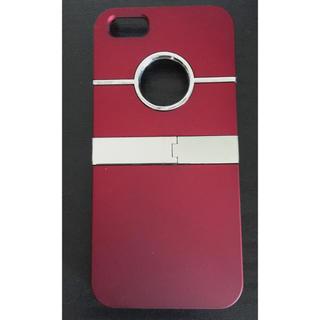 アップル(Apple)のiPhone5 ケース レッド 赤(iPhoneケース)