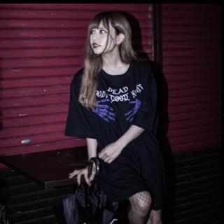 ミルクボーイ(MILKBOY)のKRY BloodyHalloween  BIG Tシャツ 日向すず (Tシャツ/カットソー(半袖/袖なし))