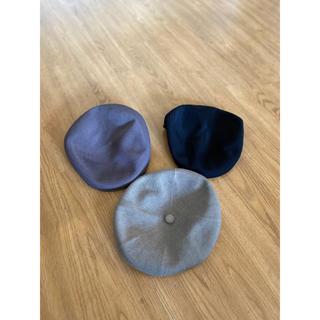 カンゴール(KANGOL)のカンゴール KANGOL 3つセット(ハンチング/ベレー帽)
