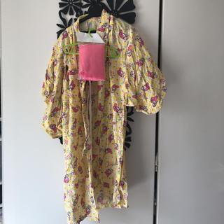サンリオ - マイメロ  浴衣 帯付 110