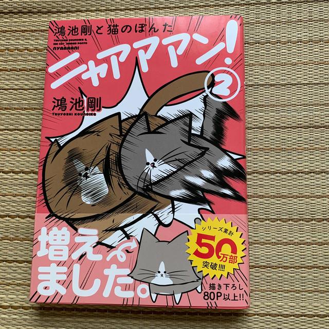 角川書店(カドカワショテン)の鴻池剛と猫のぽんたニャアアアン! 2 エンタメ/ホビーの漫画(その他)の商品写真