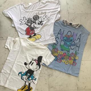 ディズニー(Disney)のディズニー Tシャツ 3枚セット(キッズ/ファミリー)