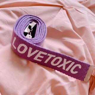 ラブトキシック(lovetoxic)のLOVETOXIC ベルト(ベルト)