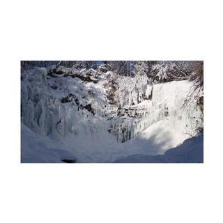 #52 氷瀑の写真 ハイビジョンサイズ(写真)