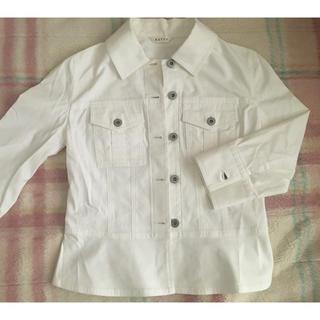 ケティ(ketty)の【お値下げ】Ketty 白のジャケット七分袖(テーラードジャケット)