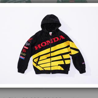 シュプリーム(Supreme)のSupreme Honda Fox Racing Puffy ZIP Up (ブルゾン)