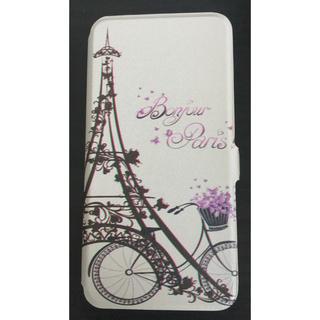 アップル(Apple)のiPhone 8 Plus フランス エッフェル塔 手帳型ケース(iPhoneケース)