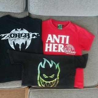 アンチヒーロー(ANTIHERO)のキッズ スケートボード ANTI HERO 140(Tシャツ/カットソー)