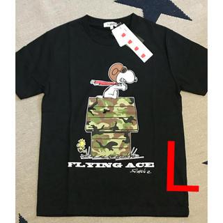ピーナッツ(PEANUTS)のボーギッシュ ピーナッツ L(Tシャツ/カットソー(半袖/袖なし))