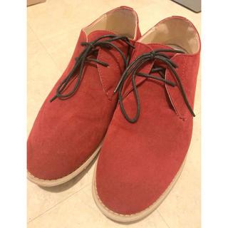 タケオキクチ(TAKEO KIKUCHI)のTK MIXPICE シューズ 靴 赤 カジュアル ドレス メンズ タケオキクチ(ドレス/ビジネス)