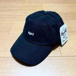 シュプリーム(Supreme)のOBEY キャップ 黒 オベイ(キャップ)