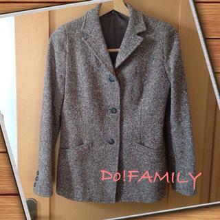 ドゥファミリー(DO!FAMILY)のDo!FAMILY ツイードジャケット(テーラードジャケット)