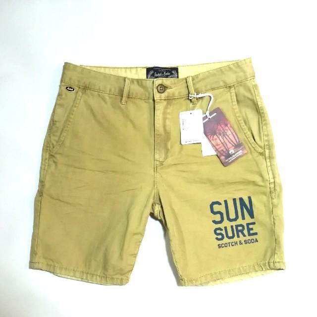 SCOTCH & SODA(スコッチアンドソーダ)の新品 SCOTCH&SODA  ショートパンツ メンズのパンツ(ショートパンツ)の商品写真