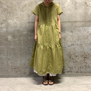 SM2 - 【新品タグ付】SM2 刺繍セーラーワンピース