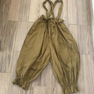 bobo chose - folkmade フォルクメイド  サロペット パンツ サイズL 120cm