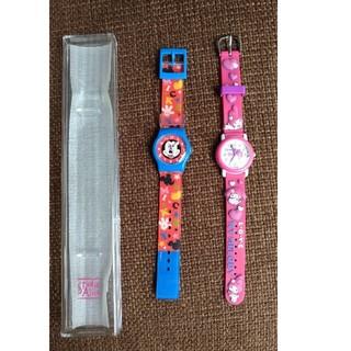 ディズニー(Disney)のミッキーマウス マイメロディ 腕時計 2本セット(腕時計)