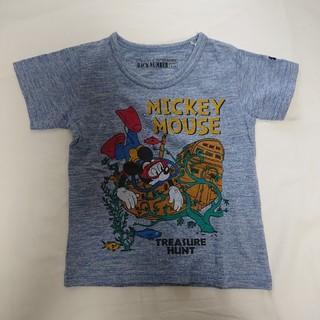 ディズニー(Disney)のミッキーTシャツ キッズ110サイズ(Tシャツ/カットソー)