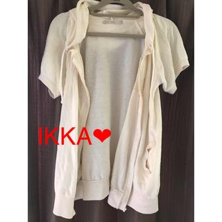 ikka - IKKA、半袖、カーディガン、パーカー