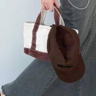 DEUXIEME CLASSE - L.L.BeanCanvas tote bag mini アパルトモン