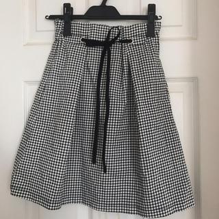OLIVEdesOLIVE - OLIVE des OLIVE チェック スカート