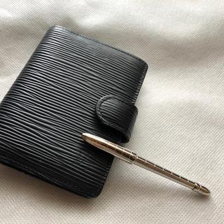 ルイヴィトン(LOUIS VUITTON)のLouis Vuitton ミニ手帳カバーとボールペン(その他)