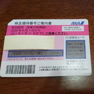 全日空 ANA 株主優待券 2020年6月1日から2021年5月31日まで(その他)