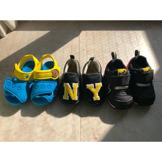 ディズニー(Disney)のディズニーなど お靴3点セット(スニーカー)