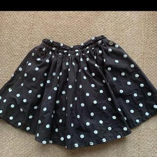 エフオーキッズ(F.O.KIDS)のエフオーキッズ スカート   インナー パンツ付き 120(スカート)