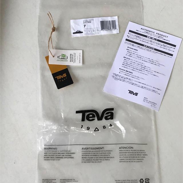 Teva(テバ)のTEVA テバ オロワフ 24 ブラック レディース レディースの靴/シューズ(サンダル)の商品写真