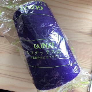 グンゼ(GUNZE)のグンゼ スパンミシン糸 #60 5000メートル(生地/糸)